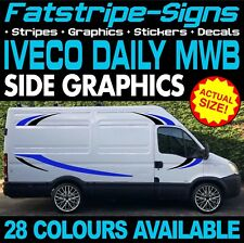 IVECO DAILY MWB GRAPHICS STICKERS STRIPES DECALS MOTORHOME CONVERSION CAMPER VAN