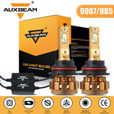2x AUXBEAM 70W 7000LM LED Canbus Headlight 9007 HB5 Hi/low Beams HID 6000K Bulbs