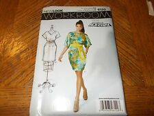 New Look Pattern 6120 Ms WORKROOM PROJECT RUNWAY ~ Dress w/Kimono Sleeves 6- 16