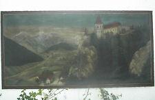 Landschaft mit Schloss, um1880,