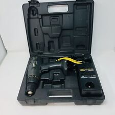"""Vintage Sears Craftsman Industrial 3/8"""" Cordless Drill Driver 13.2V With Case"""
