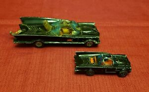 2 VTG Batmobiles Toy Corgi Juniors 1976 DC & National Periodical Pub. Britain