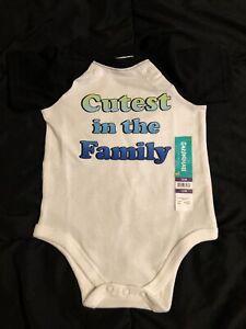 *BABY BOY GARANIMALS ONE-PIECE, 12M - Cutest in the Family
