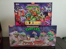 NECA TMNT Loot Crate & Turtles In Disguise Figure 4 Pack Set Target Exclusive