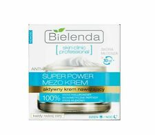 BIELENDA Super Power MEZO Cream Anti Age 100% Hyaluronic Acid Moisturizing 50ml