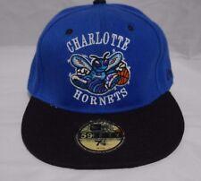 c2a1352f987 NEW NWT 59Fifty Charlotte Hornets New Era NBA Hardwood Classics Cap Size 7  1 2