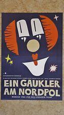 (D86) DDR-Plakat EIN GAUKLER AM NORDPOL 1984