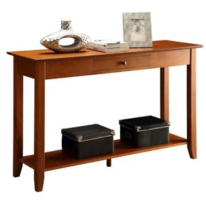 Convenience Concepts American Heritage Console Table, Cherry - 7104099CH