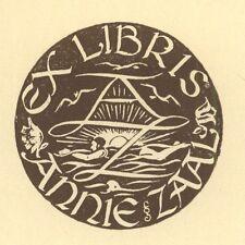 Ex Libris Harry Corvers : Opus 58, Annie Zaal