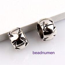 20pcs Zinc alloy nice charms big hole beads(6mm) 1B14