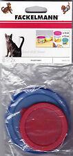 Paquete De 2 Plástico Mascota Gato Perro Comida puede Tapa de estaño cubre pequeños 7.5 cm y grandes 10 Cm