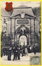 cpa 55 - VERDUN (Meuse) Une RÉCEPTION à l' EVÊCHÉ en 1904  PALAIS ÉPISCOPAL