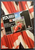 BRITISH GRAND PRIX SILVERSTONE 1990 FORMULA ONE F1 Official Race Programme