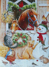 .PUZZLE.....JIGSAW.....GOFF.....Barn Door Crowd....300pc..