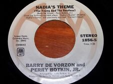 """BARRY DE VORZON 45 Record """"Nadia's Theme"""" (From """"The Young and the Restless"""")"""