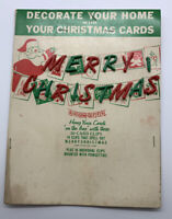 Vintage Show-Offs Decorate Your Home w Your Christmas Cards Hong Kong