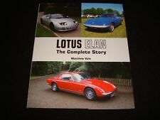 LOTUS ELAN THE COMPLETE STORY MATTHEW VALE 2013 1st EDITION H/B NEW