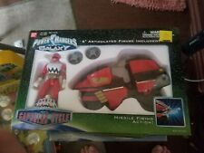 Power Rangers Lost Galaxy Red Capsular Cycle Used complete in box