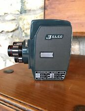 Vintage Jelco Three Turret Cine 8mm Movie Camera Collector Rare Japan