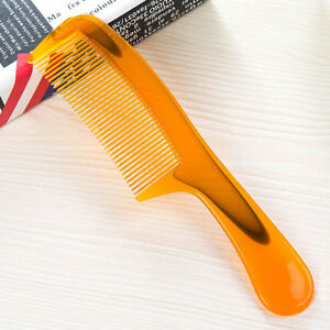 Wear-resistant Unbreakable Wide Tooth Hairdressing Anti-static Plastic Hair Comb