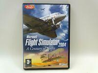 Flight Simulator 2004 A Century of Flight (PC: Windows, 2003) 4 CD's