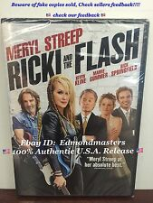 Ricki and the Flash 2015 DVD+Ultraviolet Meryl Streep, New!! (BEWAREOF FAKES!!)