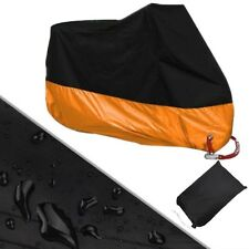 Classic Orange XXXL Motorcycle Cover For Harley Davidson Electra Glide CVO Ultra