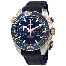 Omega Seamaster Planet Ocean Chronograph Automatic Blue Mens Watch