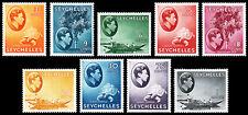 Seychelles Scott 127a // 145a (1941-49) Mint H VF, CV $94.90