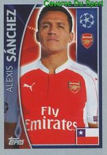 404 ALEXIS SANCHEZ CHILE ARSENAL FC STICKER CHAMPIONS LEAGUE 2016 TOPPS