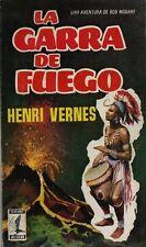 RARISSIME EO ESPAGNOLE HENRI VERNES + BOB MORANE : LA GARRA DE FUEGO