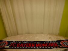 "FC Bayern München Fan Schal ""CHAMPIONS TEAM FC BAYERN MÜNCHEN"" TOP"