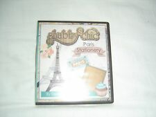 Debbie Moore. Shabby Chic Paris Stationary. CD Rom.