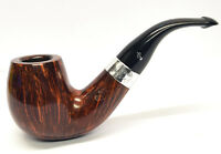 Peterson Sherlock Holmes Professor Silver Mounted Pipe 9mm Filter Free Pipe Tool