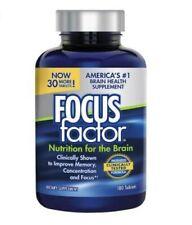 Focus Factor Brain Supplement - 180 Tablets