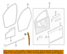 Cadillac GM OEM Front Door-Front Weatherstrip Weather Strip Seal Right 23143030