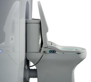 AKW Ergonomic Bidet Seat - Wash/Dry Toilet Seat, Fast Delivery