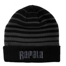 Rapala Mesh Knit Beanie with Cuff Logo (One.Size/Black.Grey) Rapbeanie1
