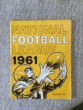 1961 National Football League Yearbook, Giants, Eagles, Browns, Packers