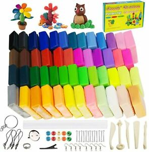 50 Colors Polymer Clay Starter Kit