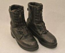 Vintage Ranger Black Leather Fire Walker Fighting/Work Boots US Size 9 M men's