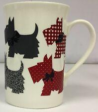 Porcelaine tasses-crème scottie chien design