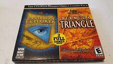 Caribbean Explorer and Bermuda Triangle 2 Full CD-Rom Games