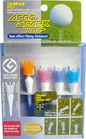 """Aero Spark Golf Tees - 2"""" Fairway Wood/Irons - 4 Pack (Pastel)"""