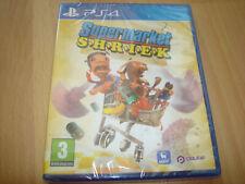SUPERMARKET SHRIEK ** NEW & SEALED ** Sony Playstation 4 Ps4 Game