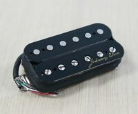 Hot Alnico Humbucker Guitar Bridge Pickup,16.8K, Double Black, PGH-1B-B