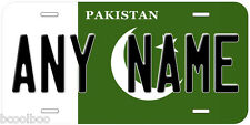 Pakistan Flag Novelty Car License Plate