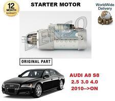 für Audi A8 S8 2.5 30 4.0 TFSI quattro 2010> auf Denso Anlasser