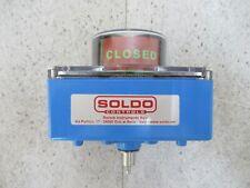 Soldo Controls SB01201-20W01A2 Electro Mécanique Spdt Interrupteur Inutilisé