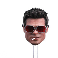 Fight Club Brad Pitt Head Sculpt 1/6 Scale Fit 12'' Action Figure Film Star New